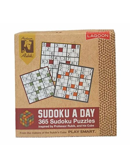 Lagoon 9033 Sudoku A Day Bloc-Notes Marron