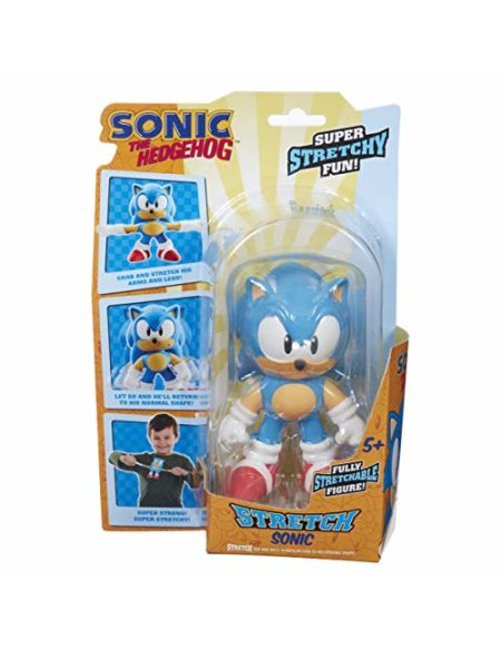 STRETCH ARMSTRONG-SA- Mini Stretch Sonic, TR000, Multicolore