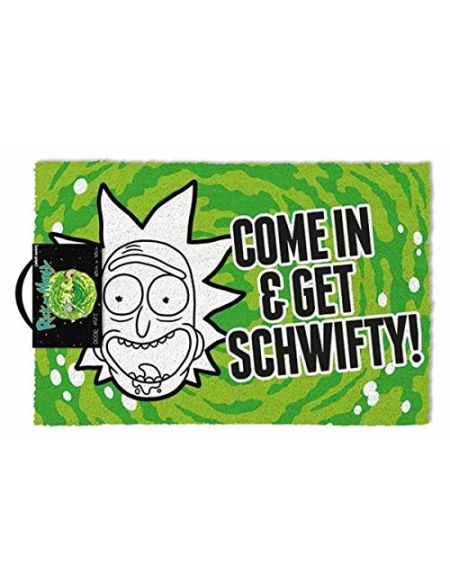 Rick & Morty GP85191 Rick and Morty (Get Schwifty) Paillasson, Multicolore, 40 x 60