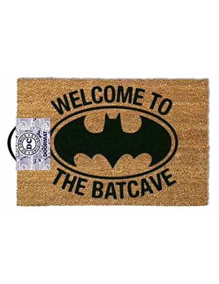 ootb GP85021 Essuie-Pieds, Batman - Welcome to The Batcave, 80 x 150 cm