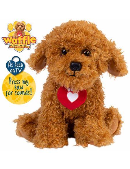 Waffle the Wonder Dog Peluche avec Sons