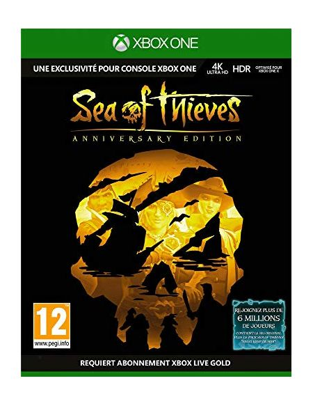 Sea of Thieves Edition Anniversaire Xbox One