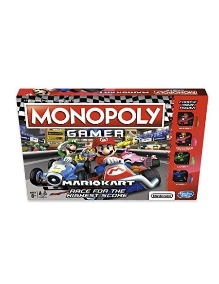 Monopoly E1870102Joueur Mario Kart, Multicolore - Version Anglaise