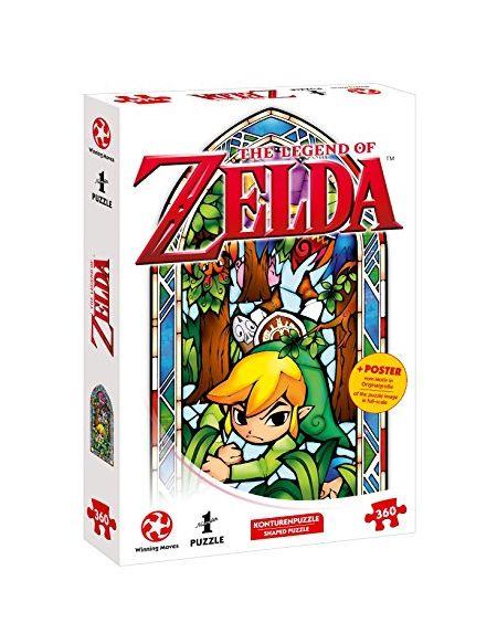 sur INS Puzzle-Aventure avec The Legend of Zelda-The Wind Waker Boomerang (360pièces, avec Poster des motivs in Original Taille)
