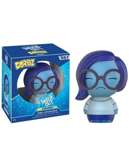 Funko- Dorbz: Disney: Inside Out: Sadness, 12402