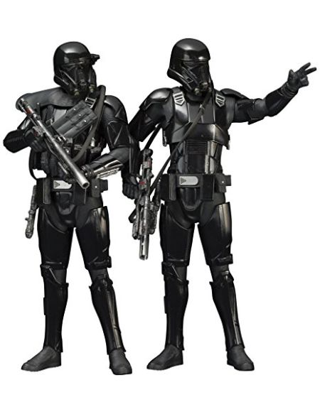 Star Wars Sw117 Rogue One Death Trooper Artfx + Statue