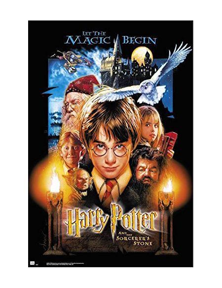 Erik® - Poster Harry Potter à l'école Des Sorciers - Papier Glacé - 91x61cm