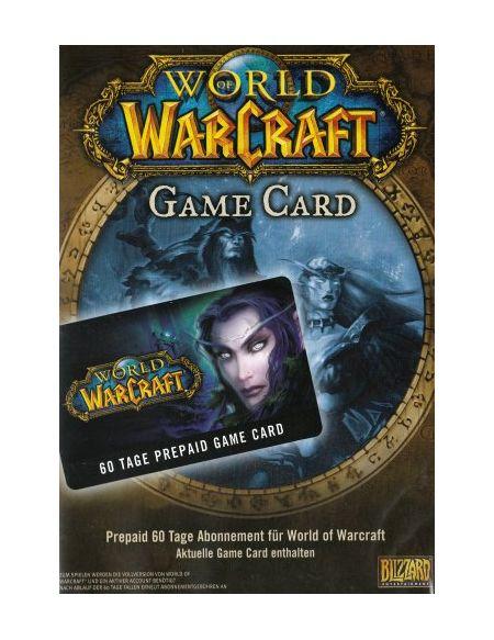 World of warcraft - carte prépayée 60 jours [import allemand]