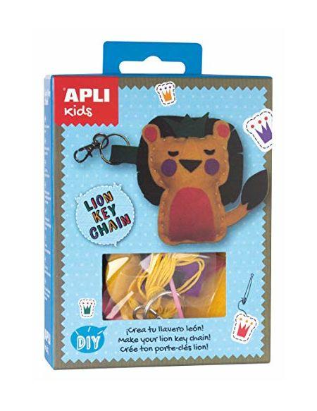 APLI Apli14719Lion Feutre Porte-clés Mini kit