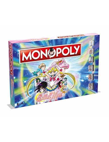 MONOPOLY SAILOR MOON - Jeu de société - Version française