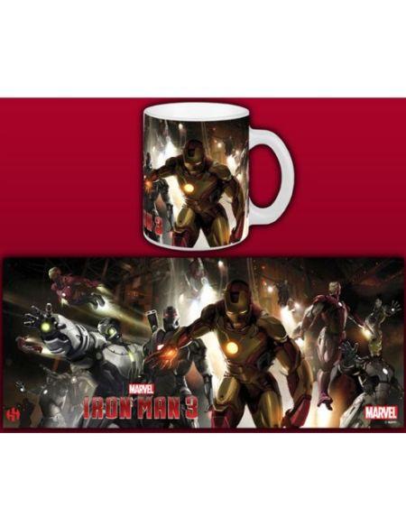 Semic Distribution - Smug041 - Ameublement Et Décoration - Mug Iron Man 3 - House Party