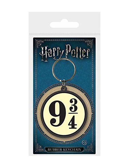 Pyramid International Harry Potter 93/4en Caoutchouc Porte-clés, Multicolore, 4.5x 6cm