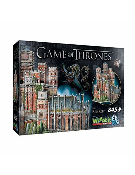 Game of Thrones: Red Keep 3D Puzzle (845 Pieces)