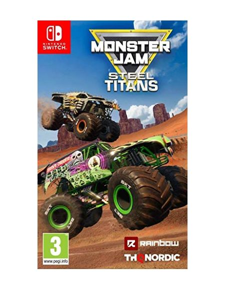 Monster Jam Steel Titans Nintendo Switch