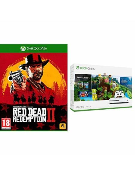 Pack Xbox One S 1 To Minecraft Creators + Red Dead Redemption 2