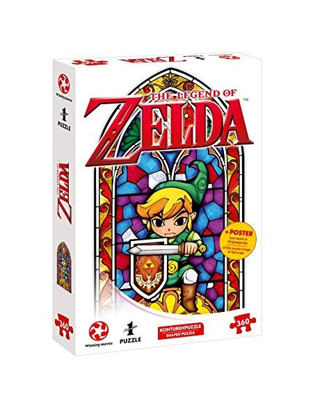 sur INS Puzzle-Aventure avec The Legend of Zelda - The Wind Waker The Hero of Hyrule (360 pièces, avec Poster des motivs in Original Taille)