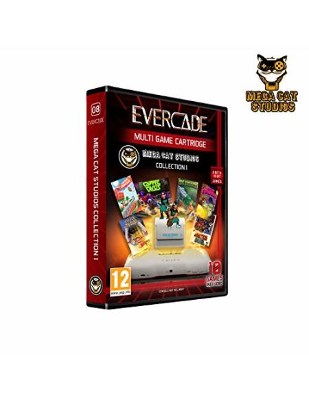 Blaze Evercade Mega Cat Cartridge 1