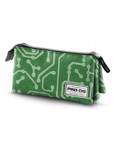 PRODG PRODG Triple Pencil Case Geek Trousses, 23 cm, Multicolore (Multicolored)