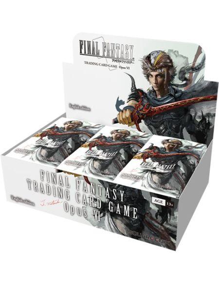 Final Fantasy Squffop6Opus 6Booster de Cartes à Collectionner Boîte de présentation de 36Paquets
