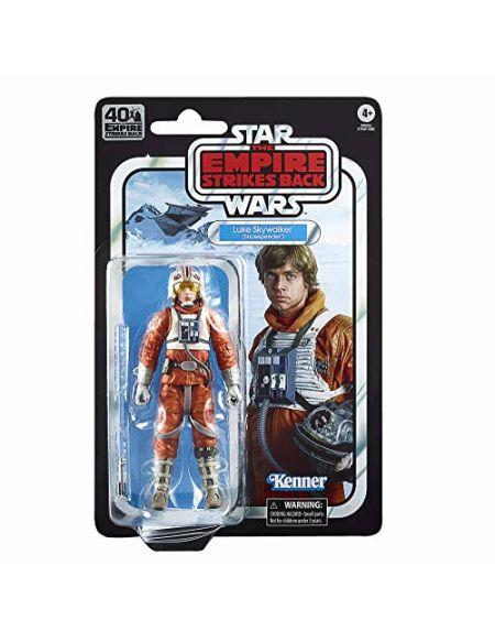 Star Wars 40ème anniversaire - Figurine Black Series Luke Skywalker (Snowspeeder) 15 cm - Edition Collector