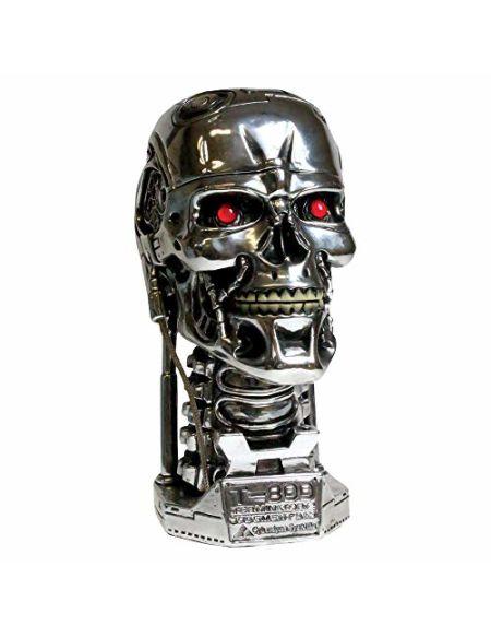 Nemesis Now-Terminator-Boîte de Rangement, argenté, 18cm