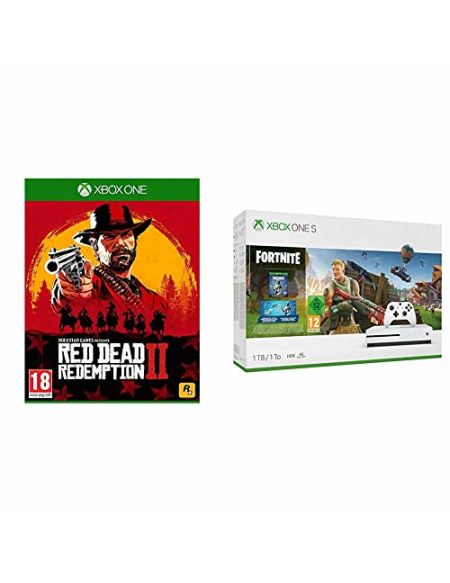 Pack Xbox One S 1 To Fortnite + Red Dead Redemption 2