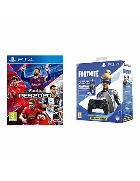 eFootball PES 2020 + Manette pour PS4 + Code Fortnite (Digital)