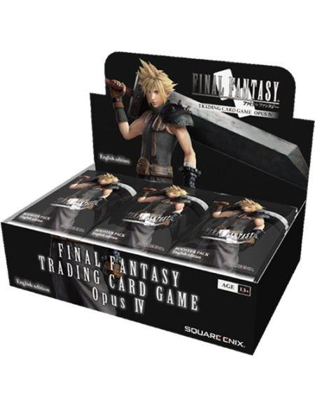 Final Fantasy Squffop4Opus 4Paquets de Cartes à échanger Booster Boîte de 36