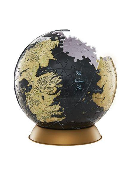 Puzzle Globe de 240 pièces 4D Cityscape Westeros et Essos