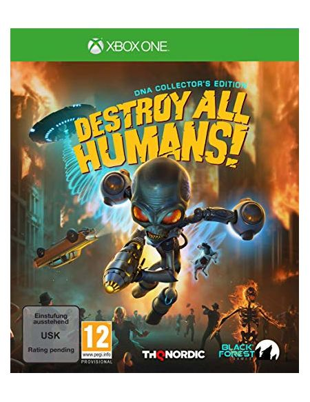 Destroy all humans! DNA Edition Collector Xbox One