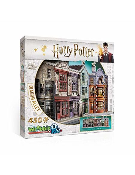 Harry Potter Diagon Alley 3D Puzzle (450 Pieces)