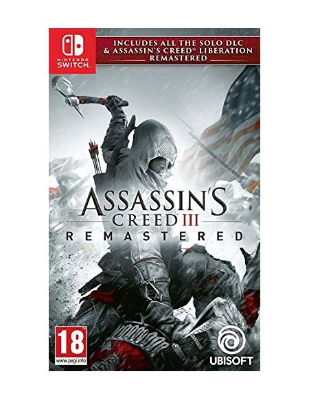 Assassin's Creed III Remastered + Assassin's Creed Liberation Remastered pour Nintendo Switch