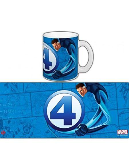 Semic Distribution - SMUG009 - Ameublement et Décoration - Mug Marvel Fantastic Four Série 1 - Mr Fantastic