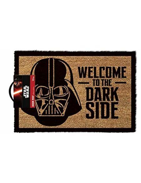 1art1 Star Wars Paillasson Essuie-Pieds - Dark Vador, Bienvenues Au Côté Obscur (60 x 40 cm)