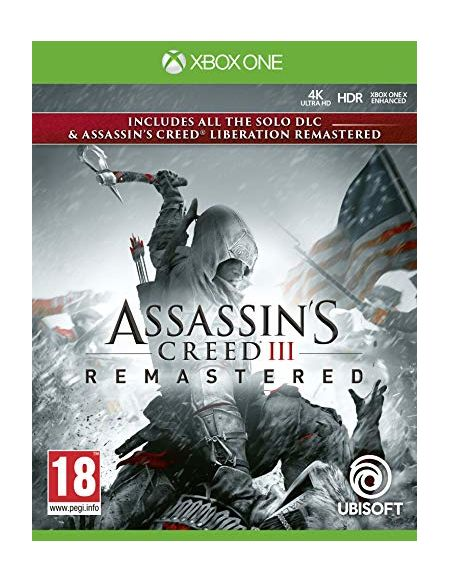 Assassin's creed 3 + assassin's creed liberation remaster Xbox One - Import anglais jouable en français