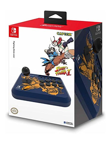 Manette Fighting Stick Mini Street Fighter pour Nintendo Switch - Chun-Li Edition