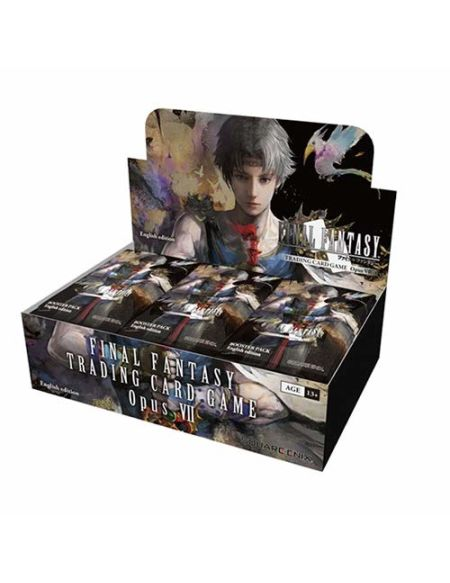 Final Fantasy Sqeffo8b Opus 7Trading Card Booster Boîte de 36Paquets
