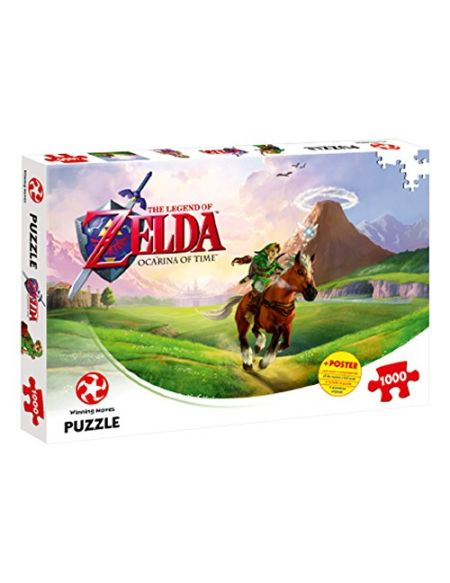 Puzzle 1000 pièces Zelda Ocarina of time Winning Moves