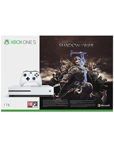 Xbox One S 1 To La Terre du Milieu: L'Ombre de la Guerre