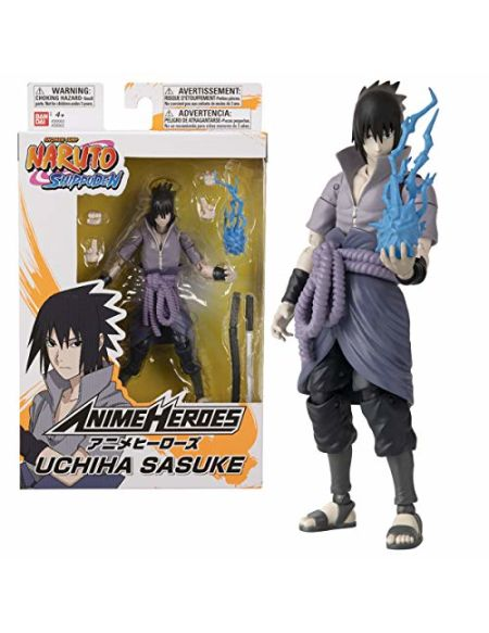 Figurine Anime Heroes Naruto Uchiha Sasuke