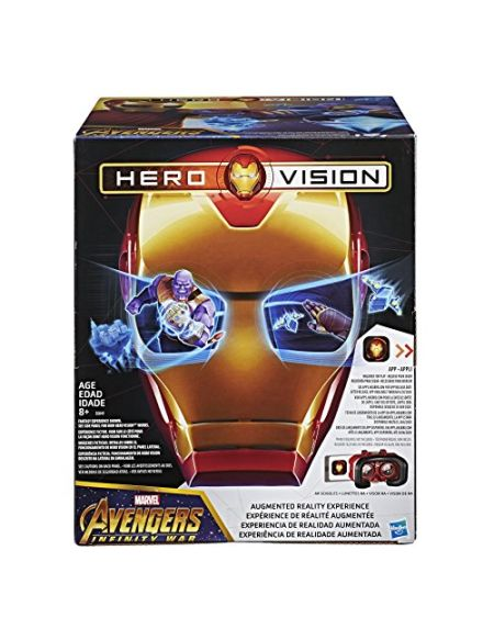 Casque Marvel Avengers Infinity War Real Iron Man