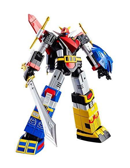 BANDAI- Figuarts Super Robot Chogokin God Sigma Figurine, 4543112942821, 14cm