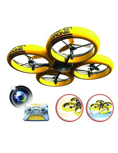 SilverLit Bumper Drone Incassable avec caméra HD - Couleur Jaune