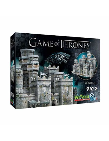 Game of Thrones: Winterfell 3D Puzzle (910 Pieces)