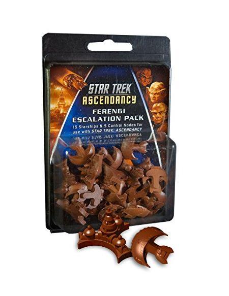 Gale Force Nine Gf9st015Star Trek Ascendancy Ferengi Ship Lot Jeu de société