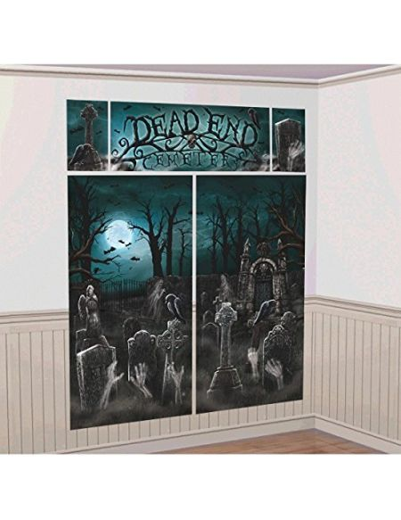 Amscan International Kit de décoration Murale Cimetière 670449