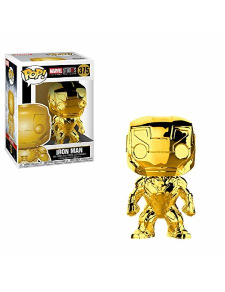 Figurine Funko Pop! Marvel Bobble Iron Man Chrome