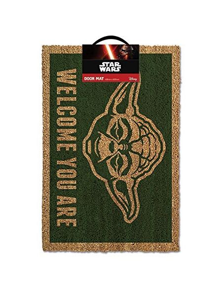 "Pyramid Star Wars ""Yoda"" Door Mat - Paillasson - PVC - 60 x 40 cm"