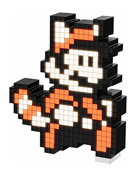 PDP Super Figurine-Pixel Pals-Raccoon Mario, 024