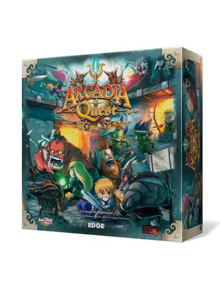 Arcadia Quest Jeu de société (Edge Entertainment AQ01)